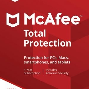 McAfee Total Protection [2 PCs 1 Year]