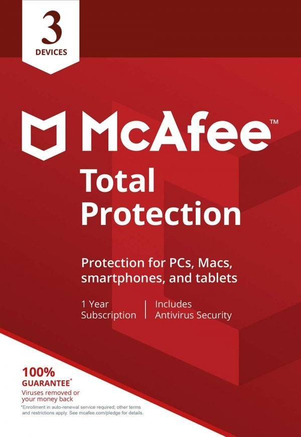 McAfee Total Protection [3 Devices 1 Year]