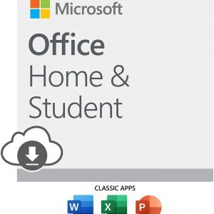 Microsoft Office Home & Student – Windows PC Lifetime Instant Download