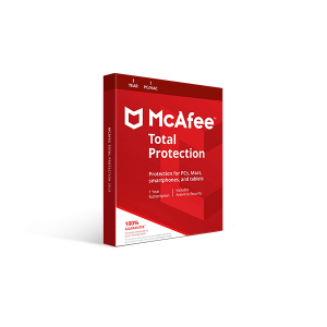 McAfee Total Protection 2019 (1YR, 1 PC/Mac)